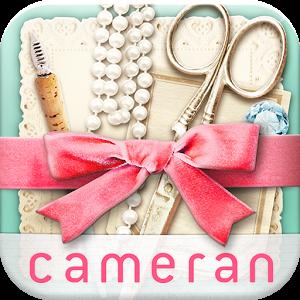 cameranコラージュ−簡単切り抜き可愛い写真加工
