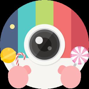 キャンディカメラ ― 自撮り、サイレント、フィルターカメラ