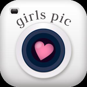 オシャレな写真加工が1000点以上girls pic