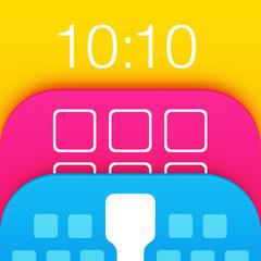 Themify - iPhoneフルHD テーマ:ライブ壁紙,背景&キーボード.