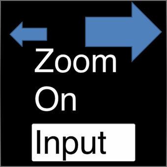 入力文字拡大 - Zoom On Input