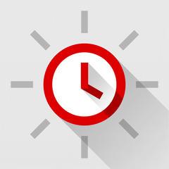 Red Clock FREE Edition -  シンプルで美しい目覚まし時計