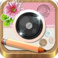 デコ&フレーム InstaDeco - Instagramをもっと素敵に写真を文字入れ&プリクラ・コラージュ