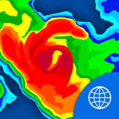 世界の天気レーダー 自由に - 雨レーダー予測