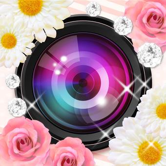 プリコン - かわいいプリ風デコ写真をつくって、無料でアイコンにできちゃう!そのままLINE・Twitter・Facebookで友達にシェアできるよ -