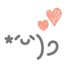 emoty - シンプルかわいい顔文字アプリ